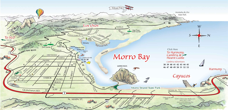 Morro Bay Ca City Map
